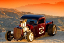 hot rods, customs and tuned cars / by ChasingAsphalt
