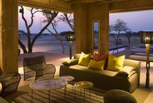 The Fort, Onguma / This Fort is unlike any other, overlooking the beautiful Etosha Pan, with probably one of the best sunset views in Namibia. This is the height of luxury here set in the heart of Onguma Reserve. Onguma Game Reserve is one of Namibia's best kept secrets. It covers over 34 000ha and incorporates ecological substrata such as savannah, bushveld, omuramba and dry pan.