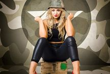 Military Pin Up/Glamour Photoshoot ideas