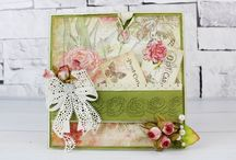 12 month Subscription Card Samples / Here you can find some card samples used the Tattered Lace dies from the 12 month magazine subscription / by Tattered Lace®