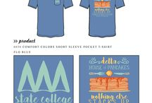 Food Functions / Greek sorority and fraternity custom shirt designs featuring food function themes. For more information on screen printing or to get a proof for your next shirt order, visit www.jcgapparel.com
