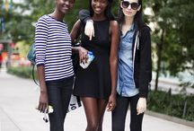 Models off duty / An homage to the perfectly undone yet put together style achieved by models off duty