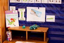 Alphabet Letter I / Activities for learning the alphabet letter I in preschool