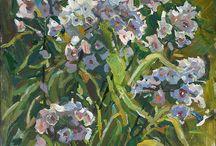 Paintings flowers by Juliya Zhukova