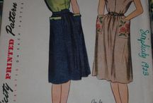 My 1940s New Look Patterns / 1946-1949
