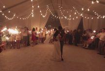 Outdoor Tent Weddings / Our outdoor tent weddings