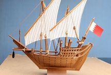 Arabic Model ships
