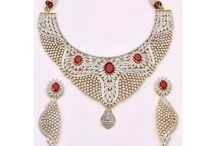 Necklace Sets Jewellery / Necklaces For Women: Shop all latest Necklace Set Designs Collection through online from chennaistore.