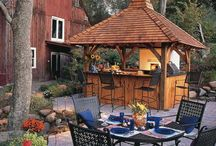 Outdoor kitchens / by Ramshackle Genius