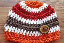 Crochet baby boy & girl
