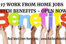 Work from Home Jobs with Benefits