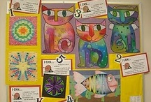 Art Education - Bulletin Boards / by Nora Gleason