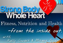 SBWH Podcast / Take a listen to the Strong Body Whole Heart podcast and start moving towards whole body health. www.strongbodywholeheart.com/podcast