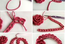 crochet, knit and sew