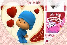 Celebrating Valentine's Day with Kids! / Crafts, activities, and cards for celebrating Valentine's Day with kids! / by Melanie Edwards/modernmami