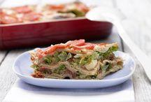 Aufläufe und Lasagne