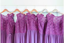 Wedding Gift Ideas For Bride and Bridesmaids / Here are some great gift ideas for brides and bridesmaids on a wedding day. Visit our blog to see more inspiration at http://kevinandannaweddings.com/blog/