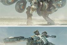 Mechs and Robots / Mech and robot goodness.