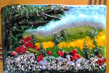 Fused Glass ideas / by Susan Nutting