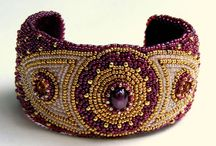 Beaded things: more patience than I have / Ornate design with elaborate beading.  Raising bead use to high art.