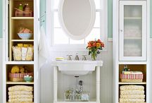 Bathroom ideas / Bathrooms - storage for small spaces