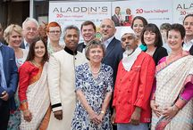 """Aladdin's 21 Years in Stratford-On-Avon / Aladdin's Restaurant Stratford-On-Avon """" Pay It Forward """"  Celebration Charity Dinner 2015  An Evening of Celebration ~ Entertainment ~ Amazing Food ~ Great Service ~ Great Fundraising Evening for 2 Worthy Cause !  Thank you Everyone for your Love and Support"""
