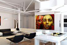 interior design / http://wojciechbabski.wix.com/paintings