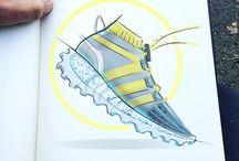 Footwear Sketching