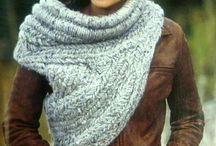 Katniss inspired cowl / Stickat