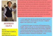 Sigfrido Oliva monologo sull'arte / Sigfrido Oliva monologo sull'arte