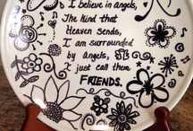 Sharpie Dishware Projects
