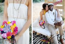 Southwestern/Boho Themed Wedding Decor / Southwestern and Boho Inspired Wedding Inspiration