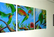 Art By Night at Zigi's Art Gallery