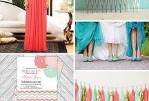 svatební barevné náměty