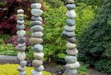 Rock in landscaping