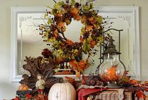 Holiday Decorations - Fall / by Wendy Kastner