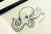 Octopus art Cindy