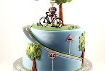 Wedding cakes - bikes