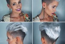 Zilver haar