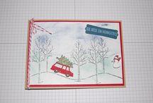 Weihnachten / Karten und kleine Geschenkverpackungen für Weihnachten  www.bastel-und-kreiere.de