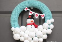decorazioni natalizie a crochet