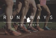 FIELD GUIDE: ANN ARBOR, MI / Michigan, The Wolverine State, The Great Lake(s) State, The Mitten. When you think of running meccas in the United States, you don't hear those monikers uttered very frequently. But one day here at Saucony we were looking at elite athlete training hubs and realized that 7 of Saucony's finest spend at least part of the year fine tuning their fitness in Ann Arbor, Michigan. Yes, Ann Arbor. Photos by: Andrew Kitto.