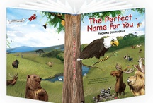 My Name Storybooks / The Perfect Name for You is the first book in our collection. Adorable animals spell out your child's name letter-by-letter, in rhymes that are fun and educational!  Perfect for newborns or toddlers learning to read.