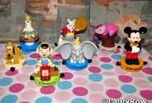 [MY] Figurines Disney Tampon DisneylandParis. ©LauryRow. / All my figurines with buffer Disneyland Paris to McDonalds 90's .... ©LauryRow.