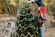 Christmas Decorating Couples Session / I think this would be sweet for an engaged couple or a married couple or even a family.  It could be done at their home with decorations or it could be more preset up in a studio type situation.  The images could be a mixture of more posed and lifestyle shots.