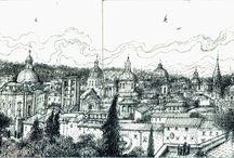 Pietro Valenti / Disegni eseguiti a Roma da Pietro Valenti (1924-2012) dopo il duemila