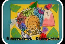 Elementary Art Lessons / by Amanda Creek