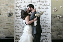 ceremony backdrops / by Valley Flora