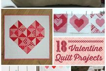 Valentines Projects / Valentines quilts and home decor projects