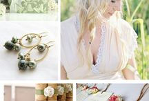 Colour palettes - green / by English Wedding Blog